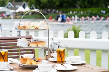 Aftenoon Tea at Henley Royal Regatta