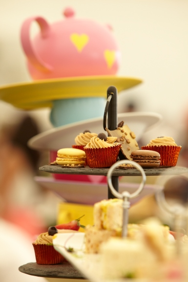 Afternoon Tea, Mad Hatter Style