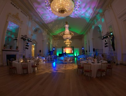 The Assembly Rooms, dinner